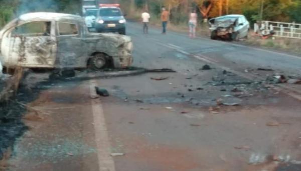 Acidente grave deixa dois mortos e um ferido na TO-080