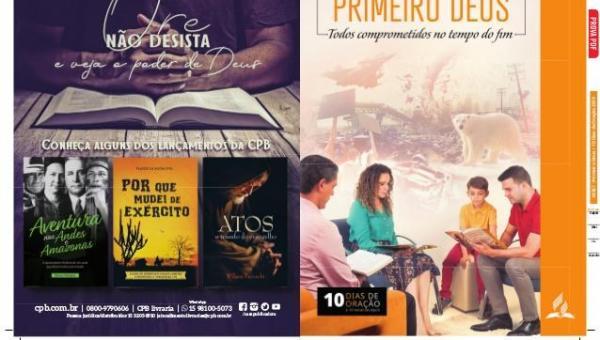Adventistas de Ananás realizam 10 horas de jejum na Igreja