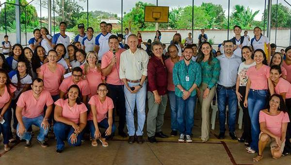 ANANÁS: CEM Cabo Aparício realiza ação pedagógica em parceria com PROCON Itinerante