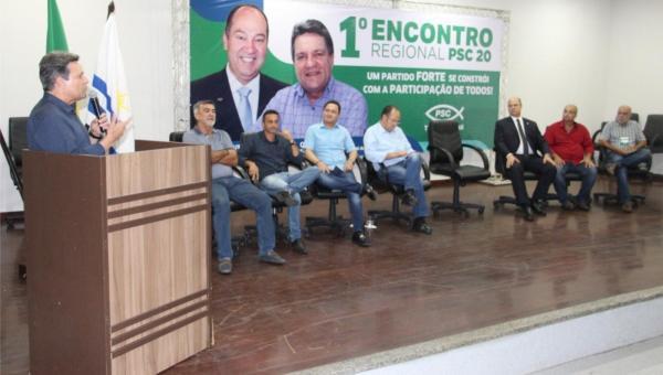 Ao lado do Governador do Rio e do Pastor Everaldo, Damaso diz que PSC será um dos maiores partidos do Tocantins