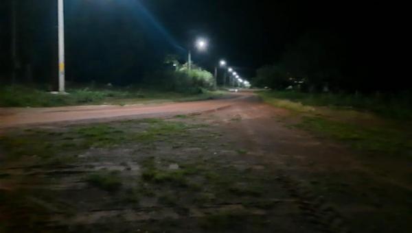 ARAPOEMA: Povoado Zé Preto recebe reposição de luminárias e lâmpadas