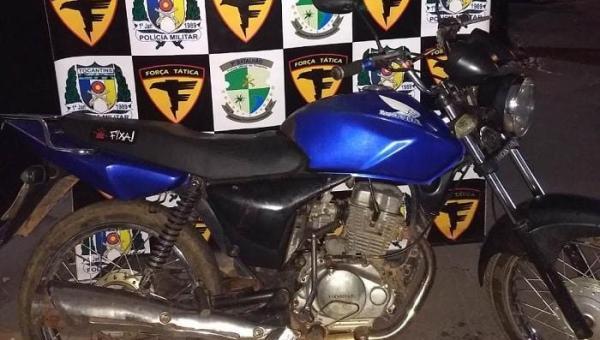AUGUSTINÓPOLIS: No Bairro Novo Horizonte, acusados de envolvimento tráfico e roubo de veículo são presos