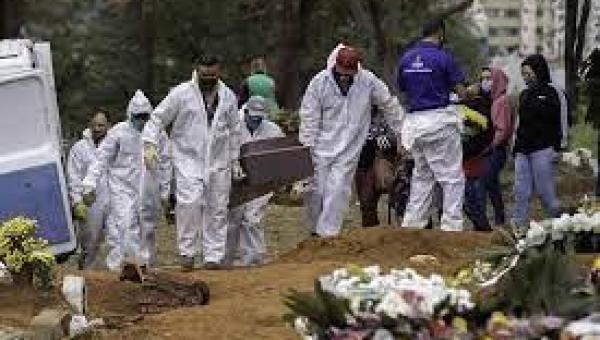 Brasil tem 3.647 mortes registradas nas últimas 24 horas