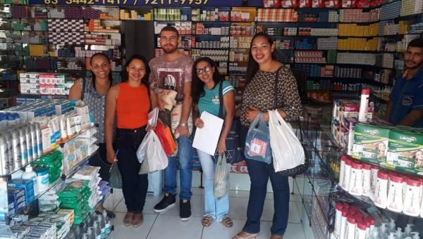 CAMPANHA NATAL SOLIDÁRIO: Moradores e Comerciantes se mobilizam por ação Social organizada pelo CRAS