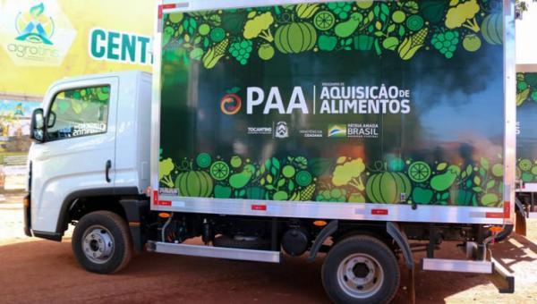 Ananás irá receber caminhão baú refrigerado para Aquisição de Alimentos dos Agricultores  familiares
