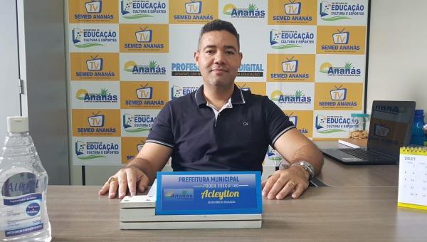 Aulas retornarão na modalidade presencial em 1º de setembro em Ananás