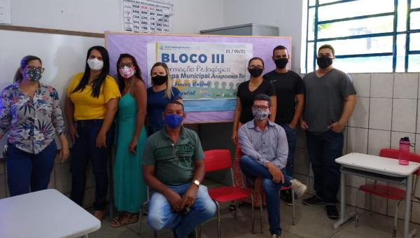 CAPACITAÇÃO: Profissionais da Educação Municipal de Arapoema participam da Formação da Rede Colaboração Tocantins