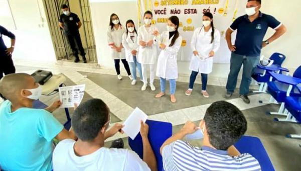 Cidadania e Justiça encerra, em Gurupi, série de palestras sobre cuidado à saúde mental no Sistema Socioeducativo