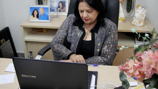 Combate à COVID-19: Valderez participa de reunião do Comitê de Crise
