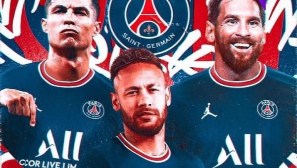 CR7, Messi e Neymar no PSG? Português é opção para o lugar de Mbappé
