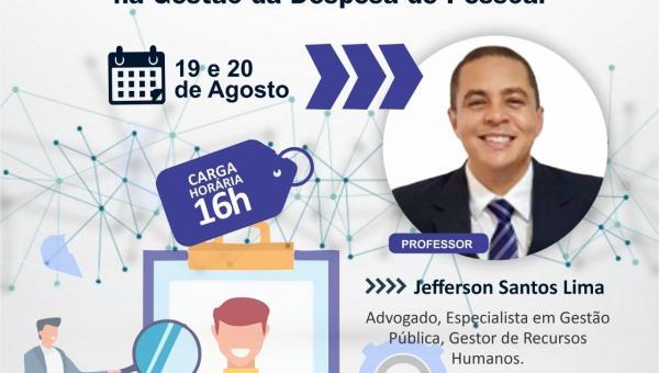 CURSO: Os impactos do E-Social na administração pública municipal e a responsabilidade fiscal na gestão da despesa de pessoal