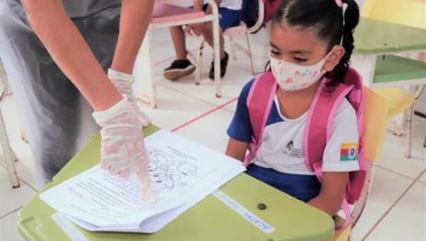 EDUCAÇÃO: Alunos das três primeiras séries do ensino fundamental retomam aulas presenciais em Araguaína