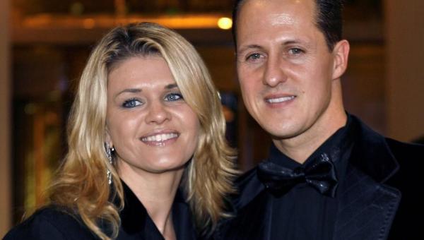 Em momento raro, esposa de Schumacher fala sobre condição de heptacampeão
