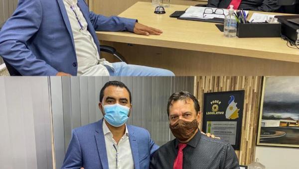 BICO DO PAPAGAIO: Fabion apresenta demandas do Bico durante visita do vice-governador Wanderlei Barbosa