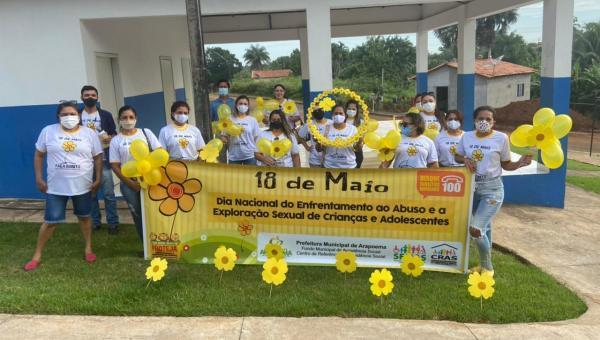 FAÇA BONITO: Passeata realizada nos dias 18, 19 e 20 mobiliza população de Arapoema contra a Exploração Sexual de Crianças e Adolescentes