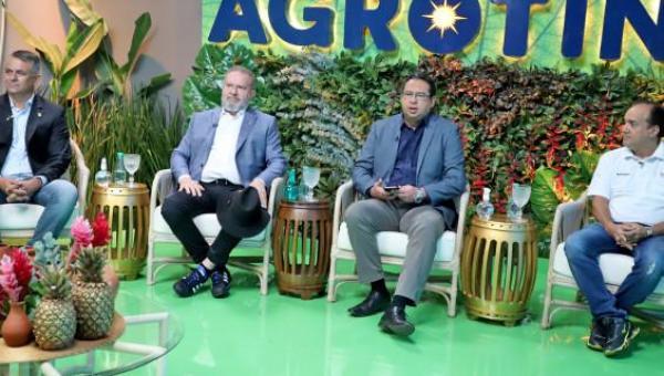 Governador Mauro Carlesse faz avaliação positiva da Agrotins e anuncia formato híbrido para próxima edição