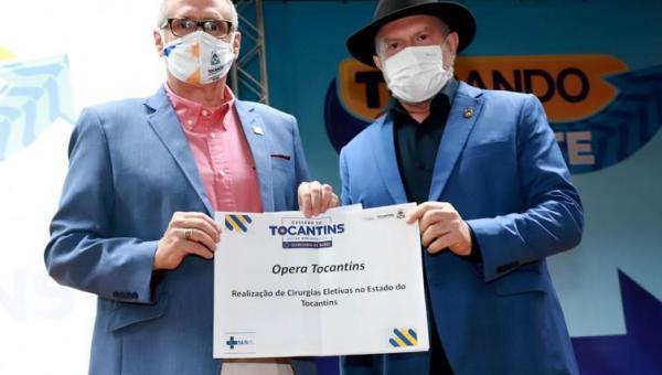Governo anuncia retomada das cirurgias eletivas e entrega equipamentos para municípios