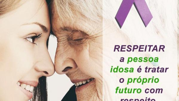 JUNHO VIOLETA: Ananás realiza ação de combate à Violência contra a Pessoa Idosa
