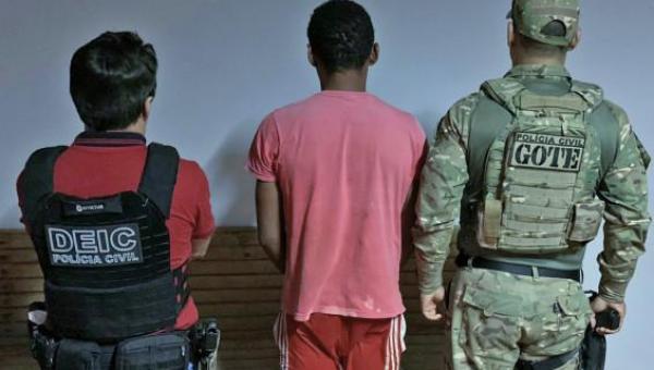 Mais uma fase da operação Hórus prende foragido da Justiça do estado de Goiás