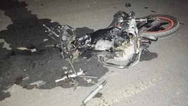Motocicletas batem de frente na TO-201 e duas pessoas morrem em Augustinópolis