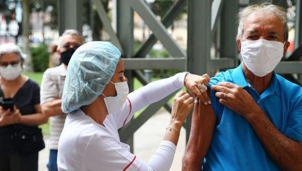 NOTICIAS BOAS: Brasil tem 46,72% da população totalmente imunizada contra a covid-19