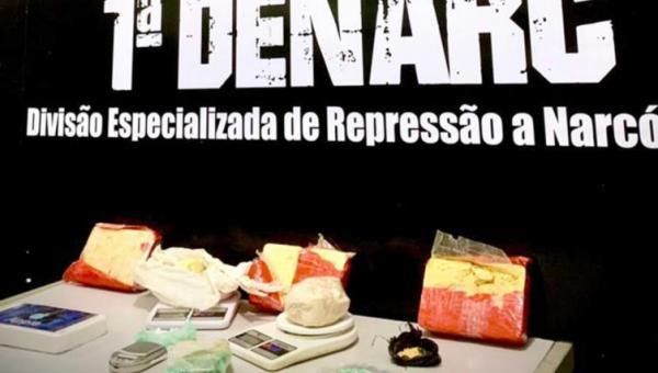 """Operação Inconfidência prende homem que armazenava drogas em """"bunker"""""""
