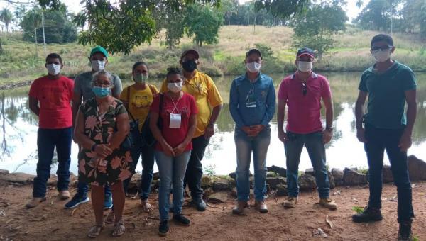 Piscicultores são capacitados para aperfeiçoamento da criação de peixes em Xambioá