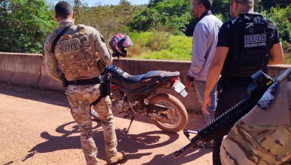 Polícia Civil apreende arma de fogo e prende suspeito de tráfico no interior do Estado durante operação Hórus