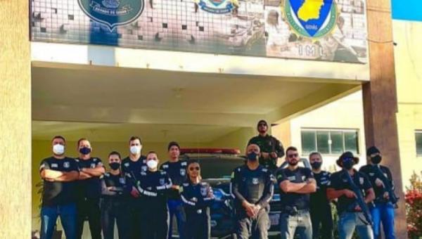Polícia Civil do Tocantins participa de ação conjunta com a PC de Goiás, na divisa entre os dois estados