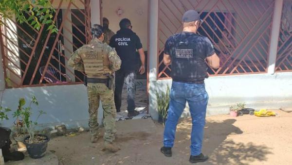 Polícia Civil do Tocantins prende receptador, recupera veículo e apreende objetos e munições em Filadélfia