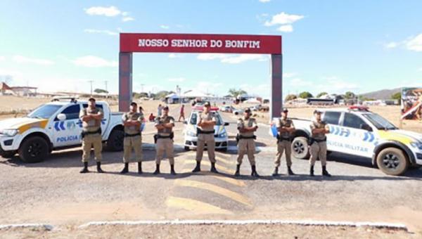 Polícia Militar realiza policiamento estratégico em locais que realizarão a Romaria do Senhor do Bonfim