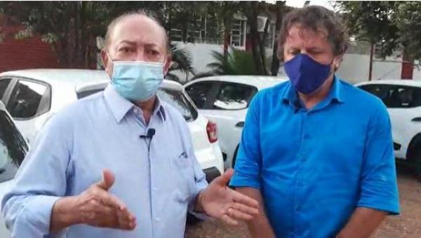 Prefeito de Colinas agradece a Lázaro Botelho por emendas destinadas à aquisição de veículos para a Saúde