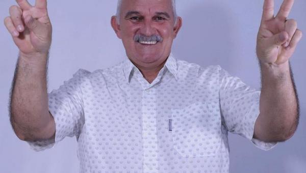 Prefeito de Nova Olinda, Temis Domingos, morre aos 50 anos vítima de Covid-19
