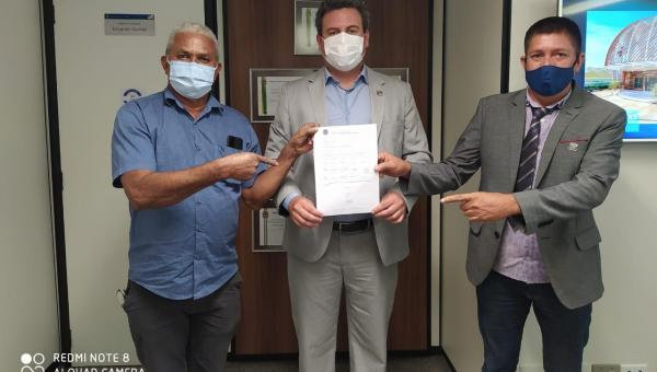 Prefeito Djalma Júnior em Brasília garante que recursos sejam destinados à Wanderlândia