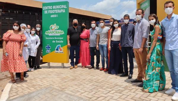 Prefeito Paulo Pedreira inaugura Centro Municipal de Fisioterapia em Arapoema