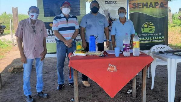 Prefeitura de Ananás continua execução de plano agrícola em parceria com Ruraltins