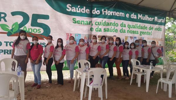 Prefeitura de Ananás, por meio da Secretaria de Políticas Públicas para as Mulheres inicia Primeira Edição do Programa Útero é Vida.