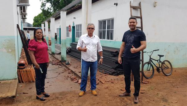 Prefeitura de Ananás inicia reforma da escola municipal João Dias Borges