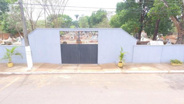 Prefeitura de Angico realiza reforma e reestruturação no Cemitério Municipal Jardim das Oliveiras
