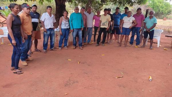 Prefeitura de Angico, Secretaria Municipal de Agricultura e Ruraltins realizam reuniões para cadastrar agricultores familiares e pequenos produtores no Programa de Mecanização das Lavouras