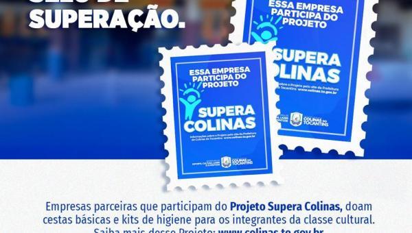 Prefeitura de Colinas do Tocantins beneficia artistas com o projeto Supera Colinas, com o apoio de empresas do Município