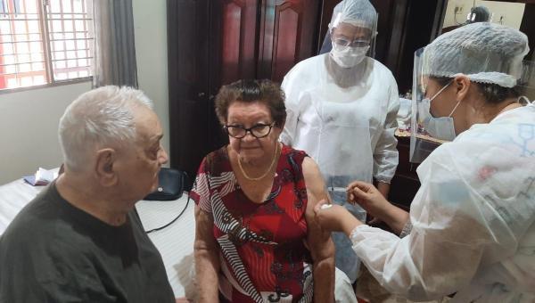 Prefeitura de Colinas do Tocantins retoma vacinação do público alvo, de 60 anos ou mais
