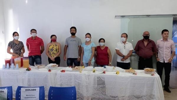 Primeira-dama realiza celebração de aniversário de servidores de Ananás