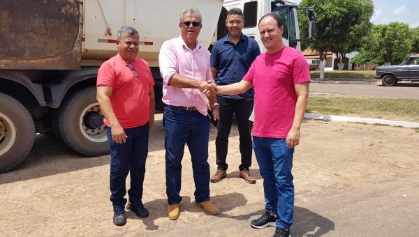 Restauração das ruas de Ananás ganha reforço