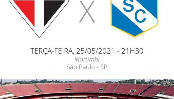 São Paulo x Sporting Cristal: veja escalações, desfalques e arbitragem