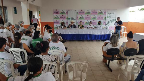 Secretaria de Políticas Públicas para Mulheres capacita podutores rurais em Ananás