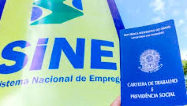 Sine apresenta 537 vagas nesta segunda, 19, e todas as regiões do Tocantins