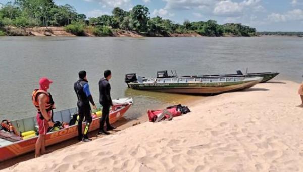 TOCANTINS: Corpo de Bombeiros resgata corpo de idoso que se afogou no Rio Araguaia, em Caseara