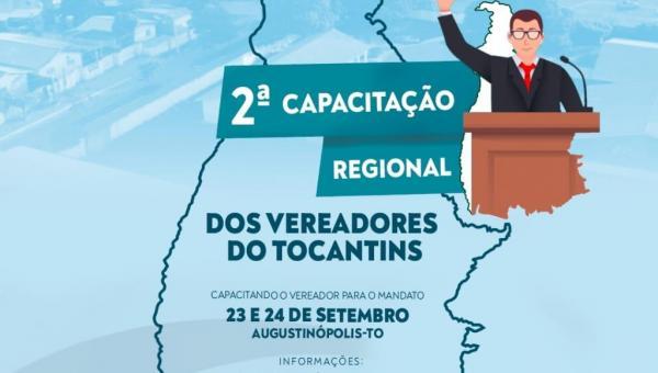 União dos Vereadores do Estado Tocantins levará capacitação aos vereadores do Bico do Papagaio
