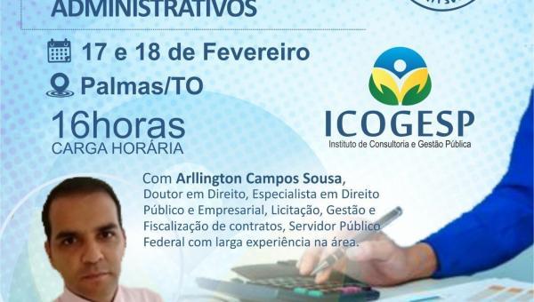 Curso Gestão e Fiscalização de Contratos 17 e 18 de Fevereiro/2020 Palmas-TO